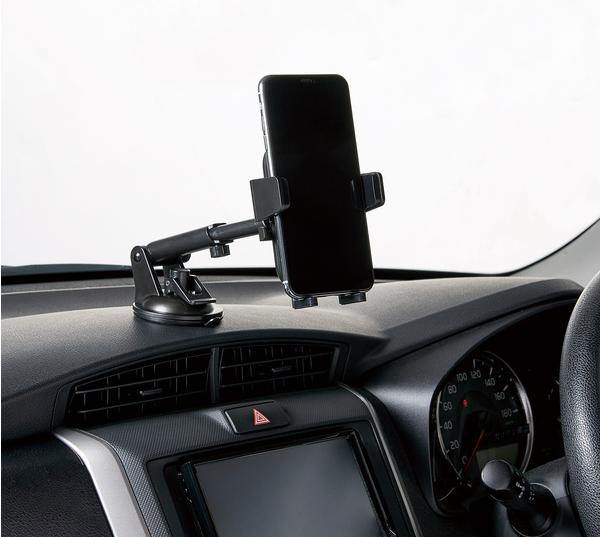 車内スタンドPCARS11BKの装着イメージ