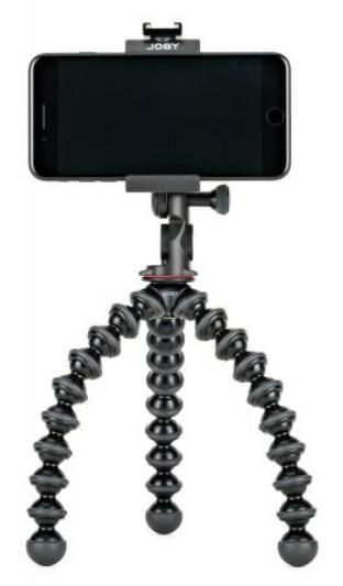 グリップタイトPRO2ゴリラポッドのスマホ装着イメージ