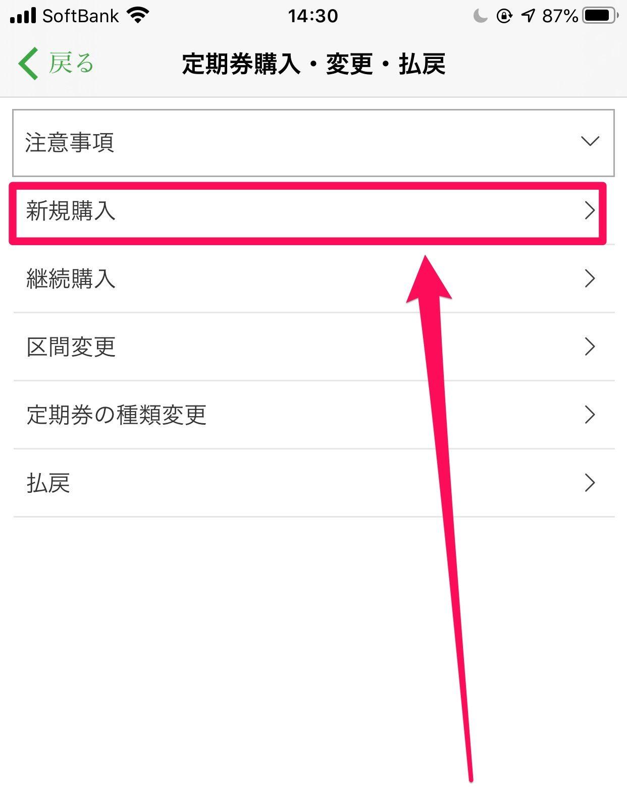 Apple PayでSuica4