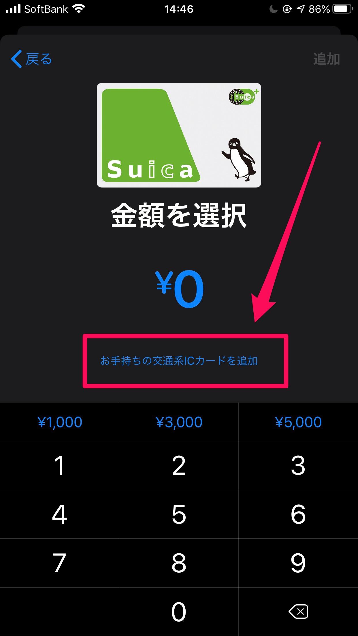 Apple PayでSuica11