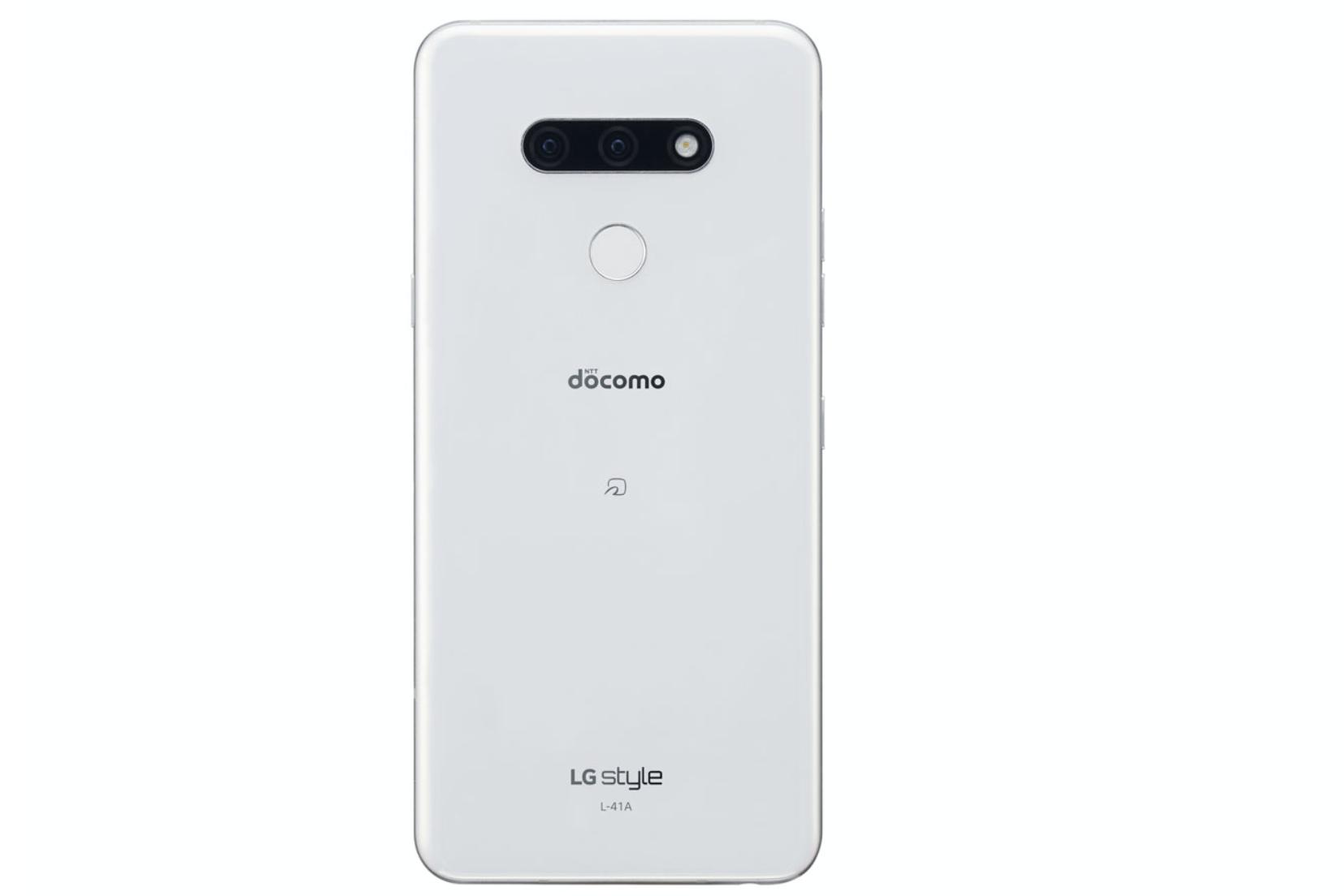 LG style3オーロラホワイト