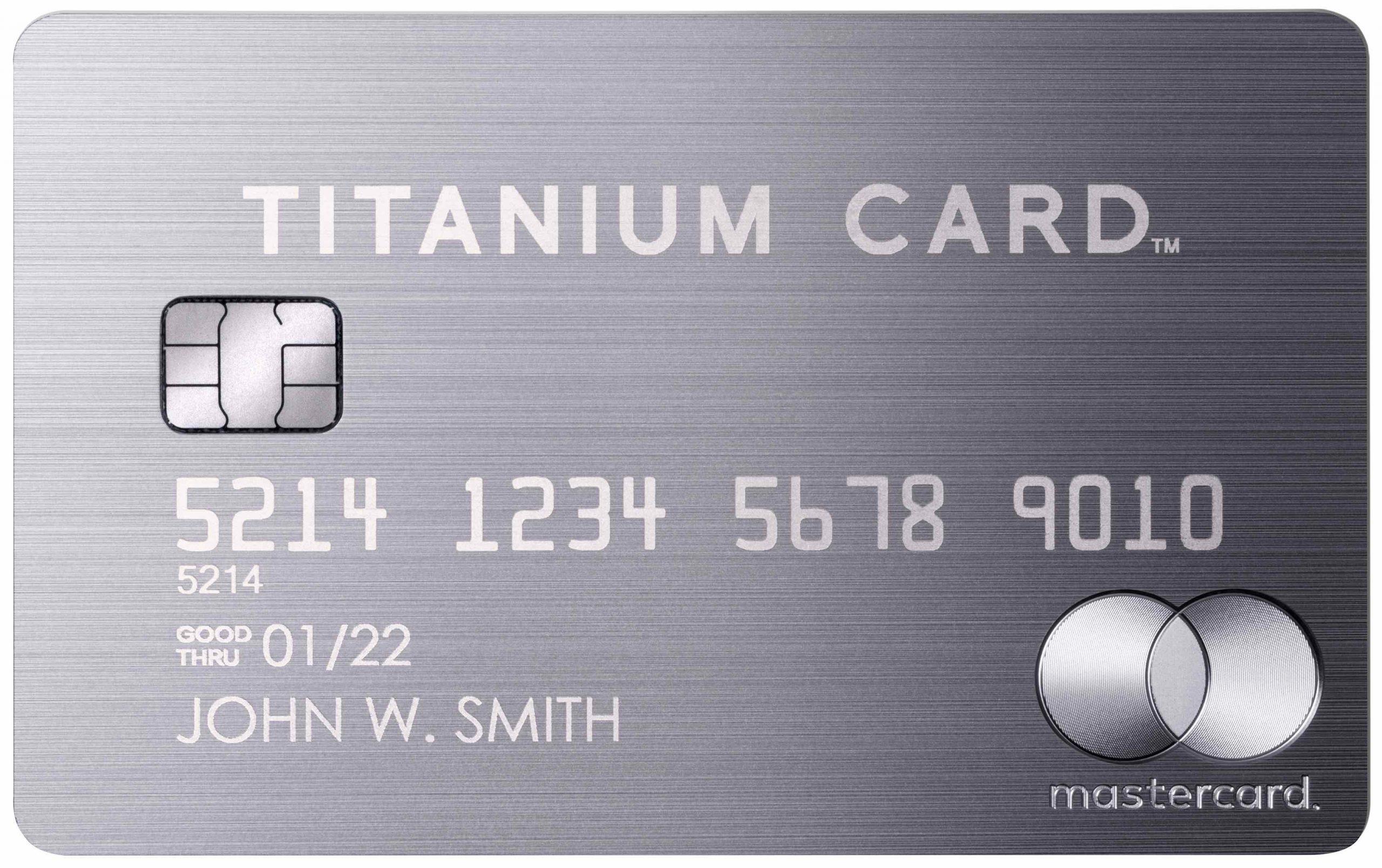 ラグジュアリーチタニウムカード