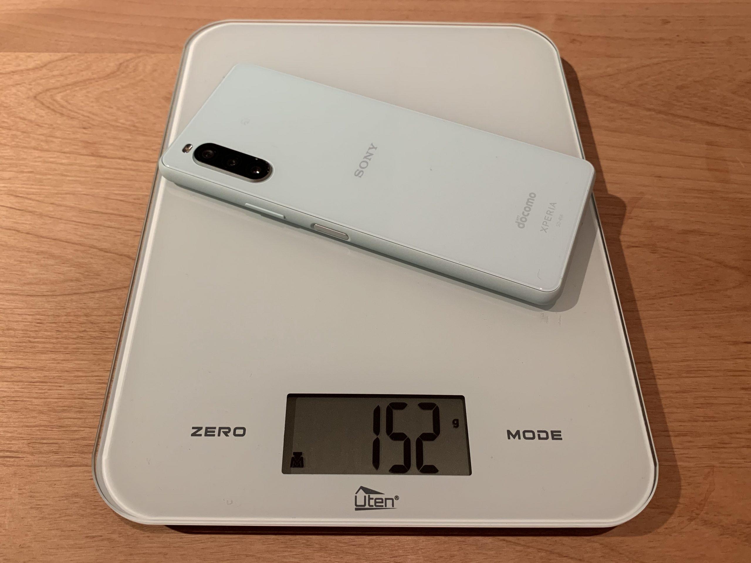 Xperia 10 ll重量