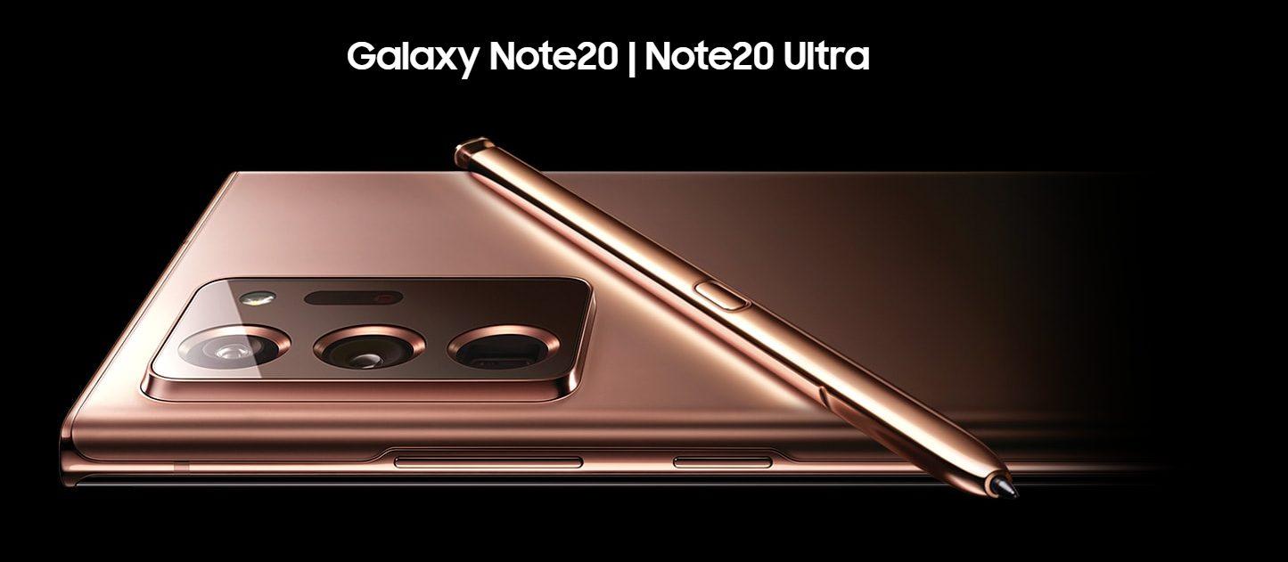Galaxynote20背面部
