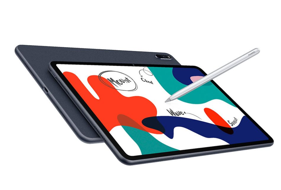 HUAWEIMatePadにペンで絵を描く