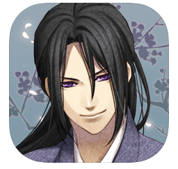アプリ「薄桜鬼 時告絵巻」のダウンロードサイトアイコン