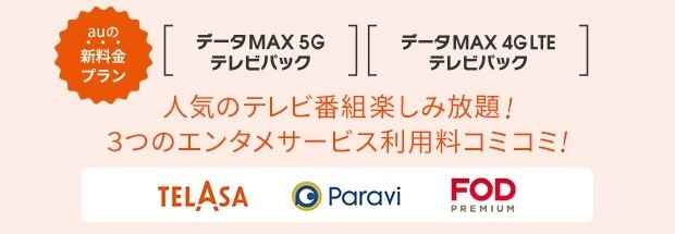 データMAXテレビパック