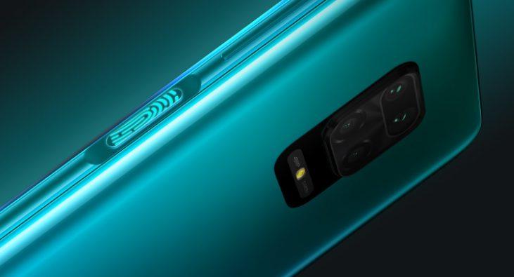 Redmi Note 9S 指紋認証