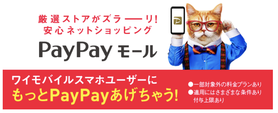 ワイモバイル PayPayキャンペーン