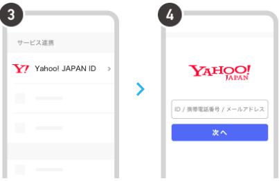 Yahoo! JAPANのID登録方法