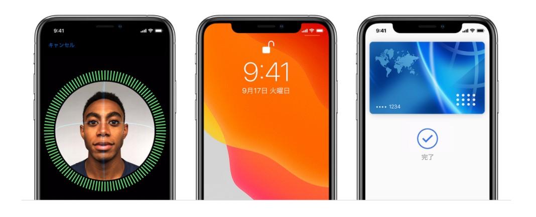 iPhoneのFaceID