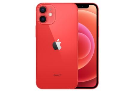 iPhone12 miniのレッド