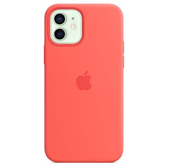 iPhone12のMagSafe対応シリコーンケース