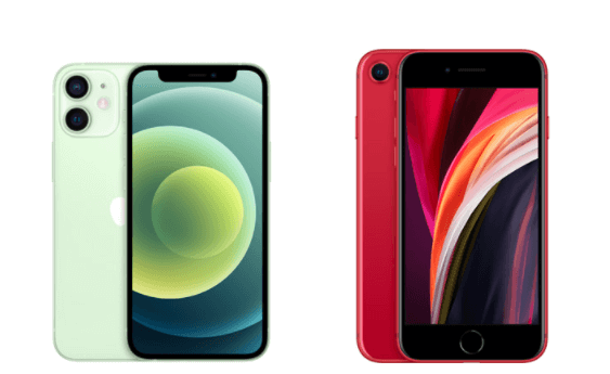 iPhone SE(第2世代)とサイズ比較