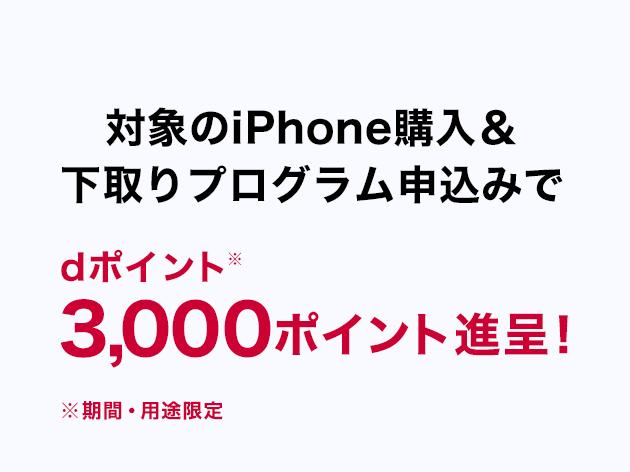 iPhone購入&下取りでポイント進呈