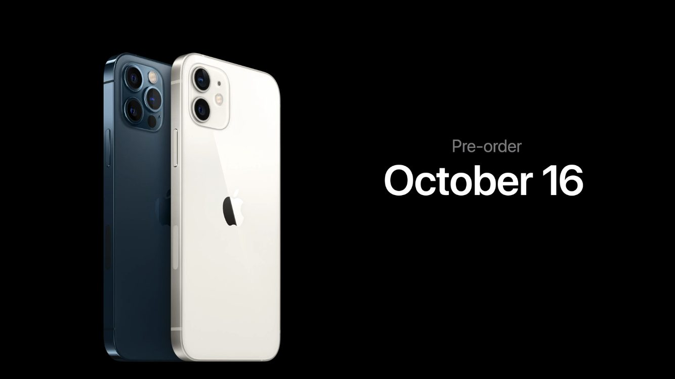 iPhone 12/12 Proの予約開始日