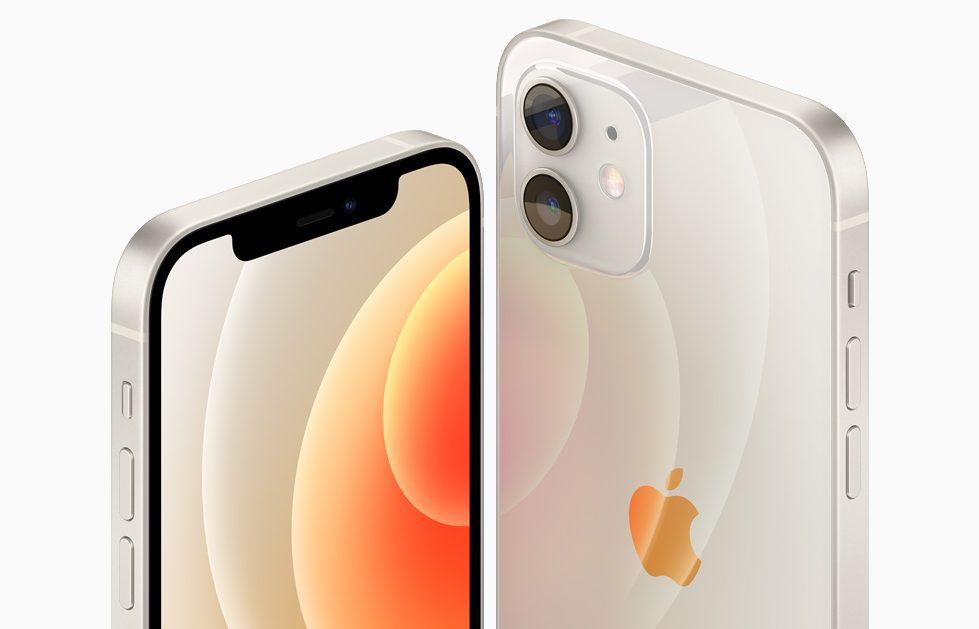 iPhone12のホワイト