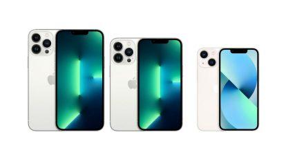iPhone13のサイズ比較