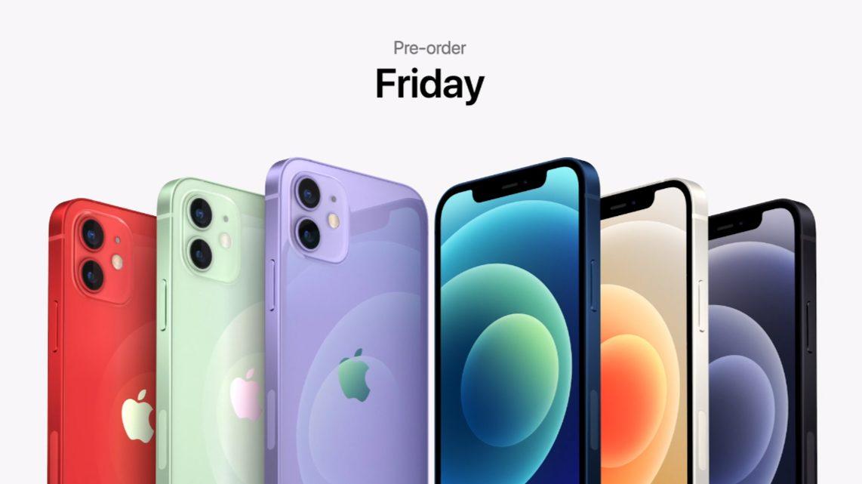 iPhone12の色