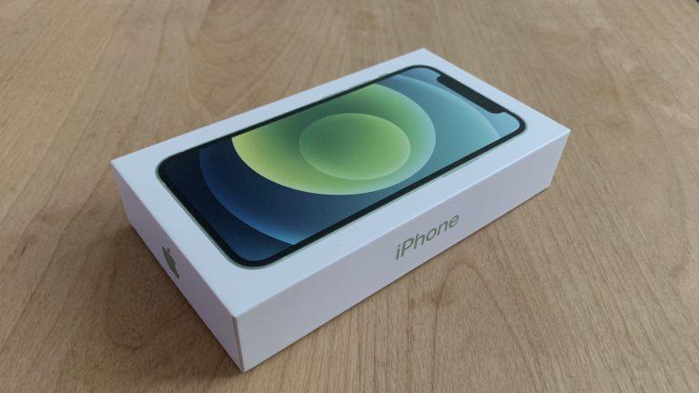 iPhone 12 mini 外箱