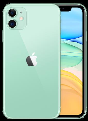 iPhone11のグリーン