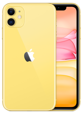 iPhone11のイエロー