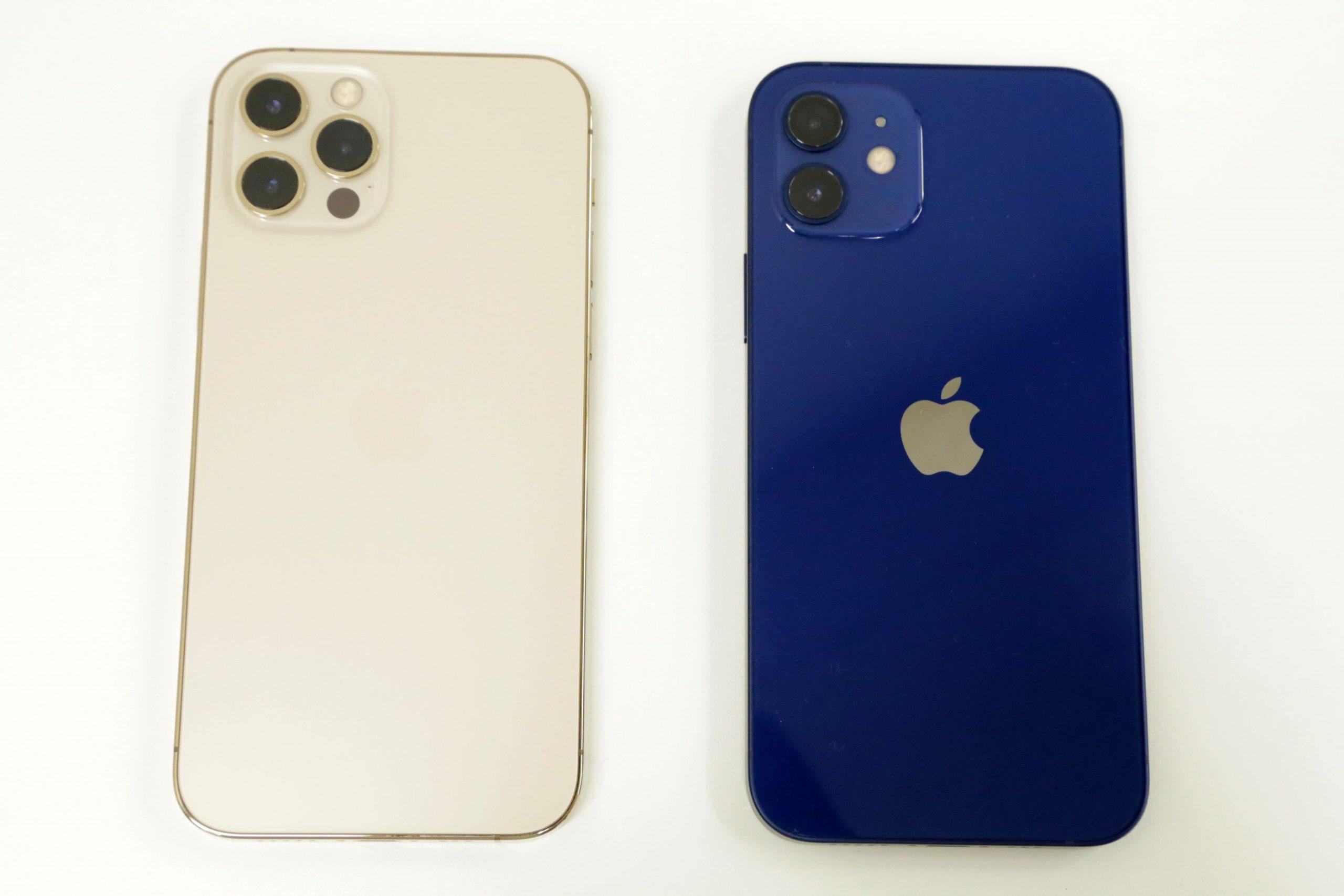 iPhone 12/12 Proの背面
