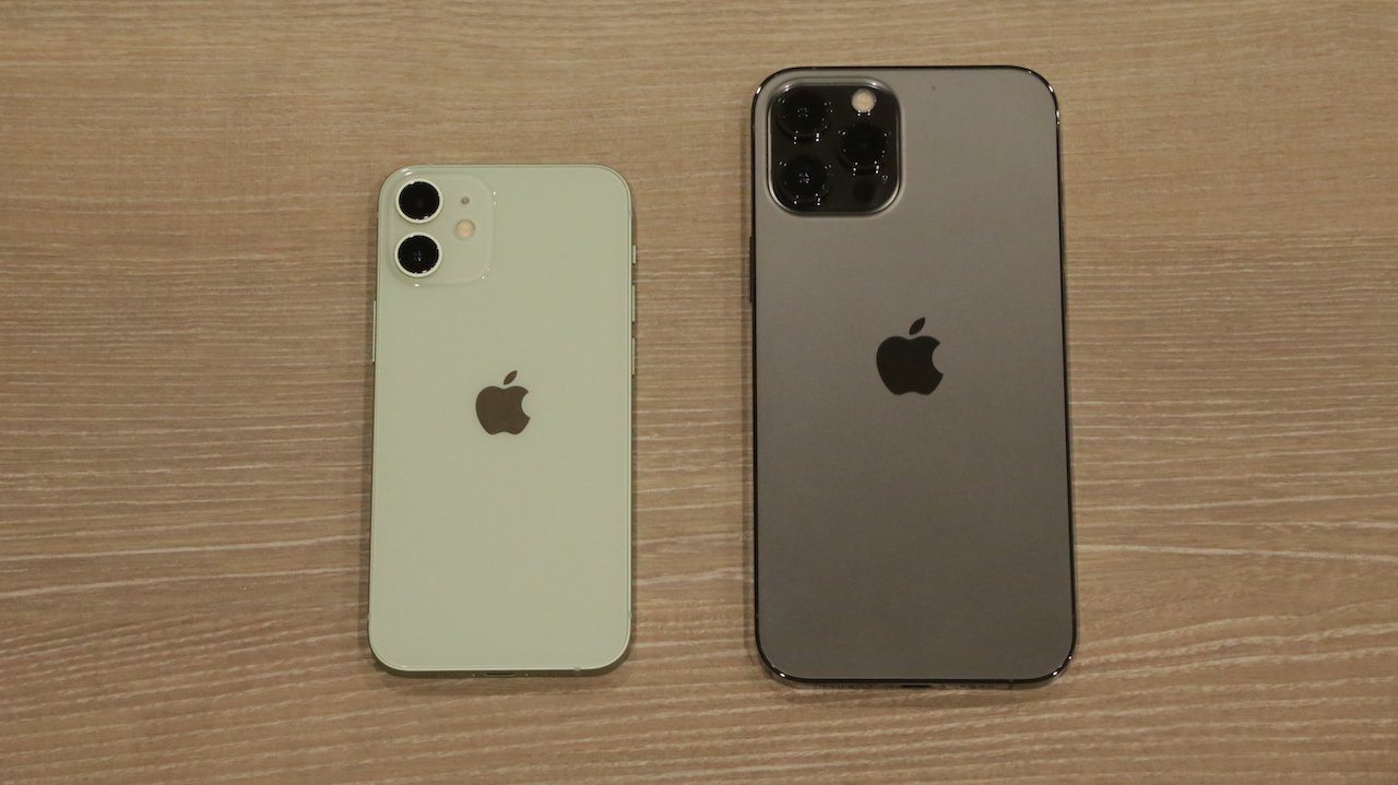 iPhone 12の比較