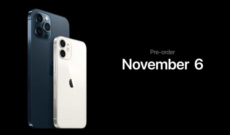 iPhone 12 mini/Pro Maxの発売日