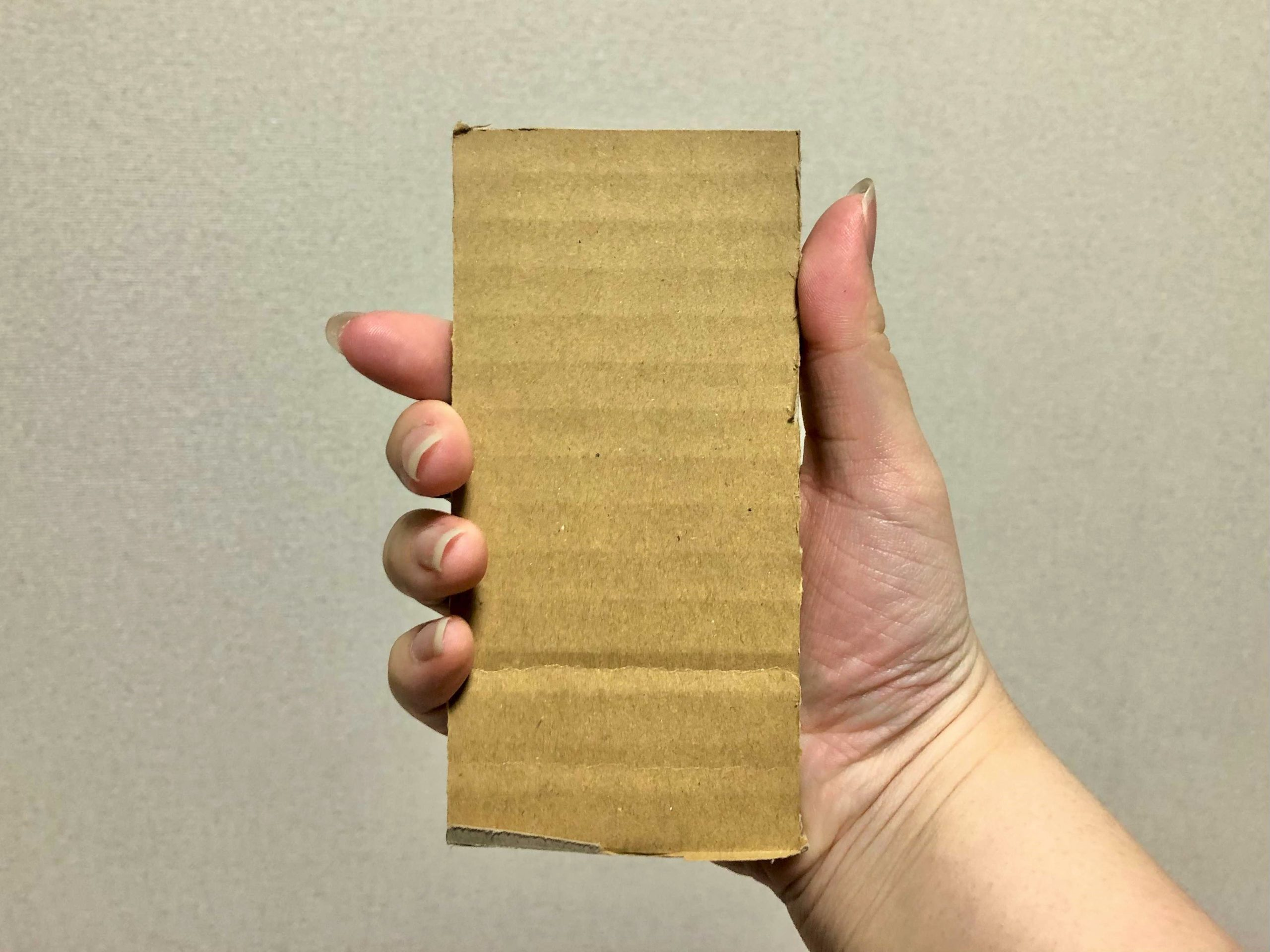 iPhone12 miniのサイズ感
