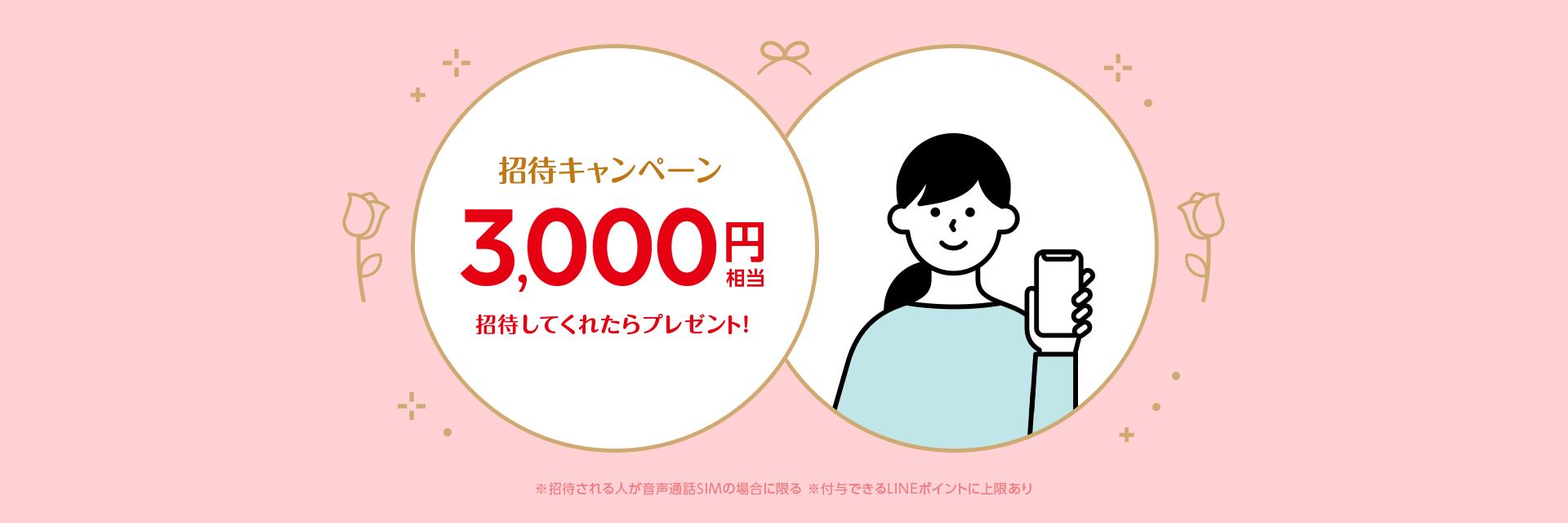 LINEモバイル紹介キャンペーン