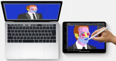 MacBookとiPad