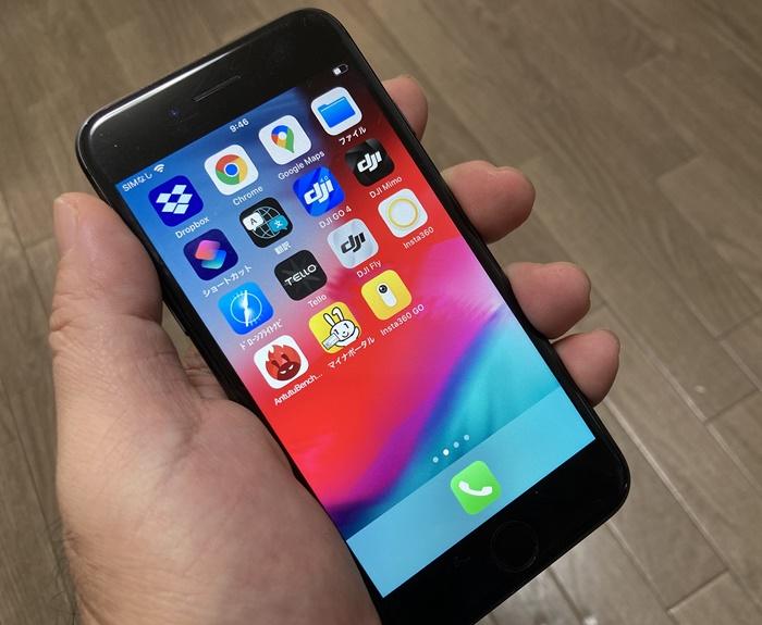 iPhone8のサイズ感