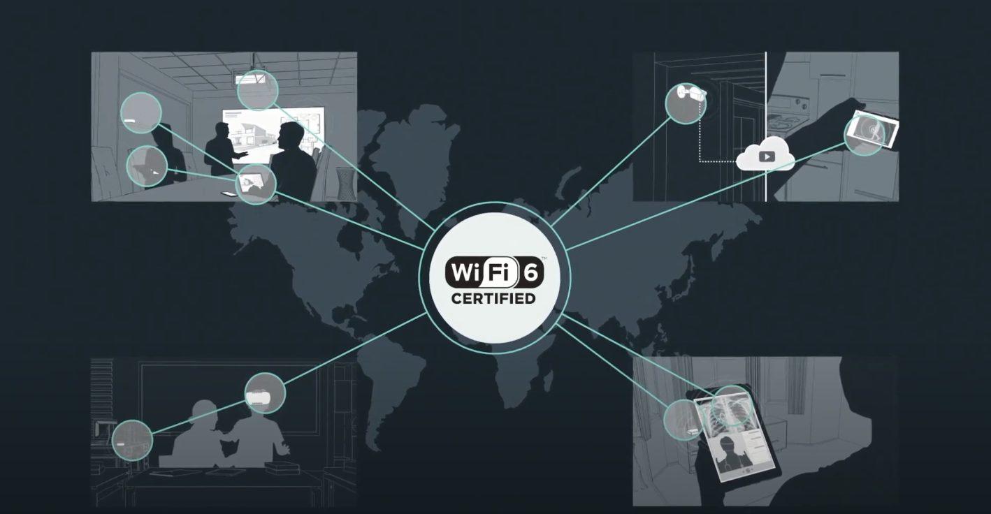 WiFi6ライセンスデバイスで通信