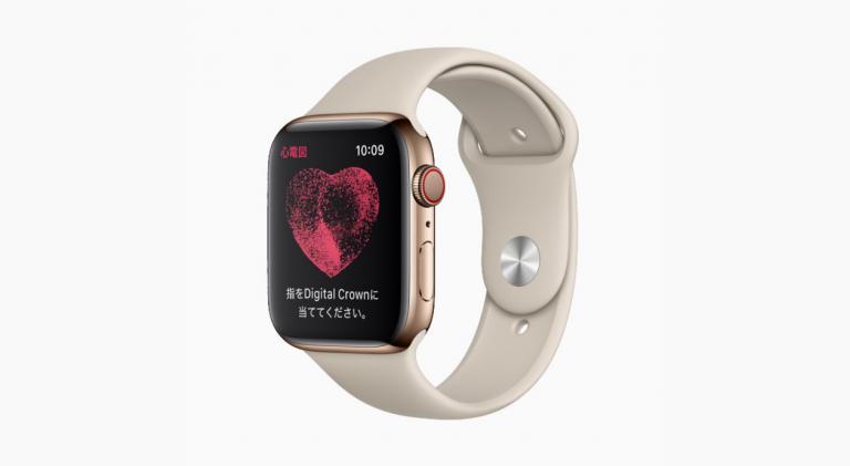 アップルウォッチの心電図