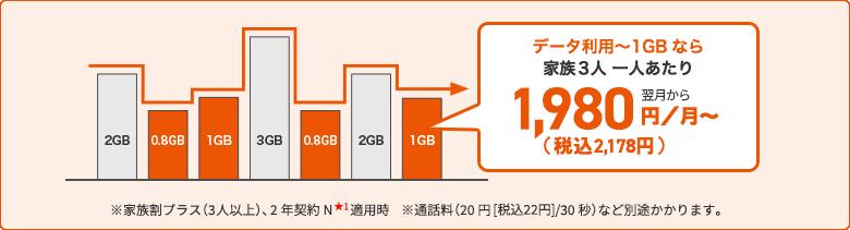 ピタットプラン 4G LTE(新auピタットプランN)