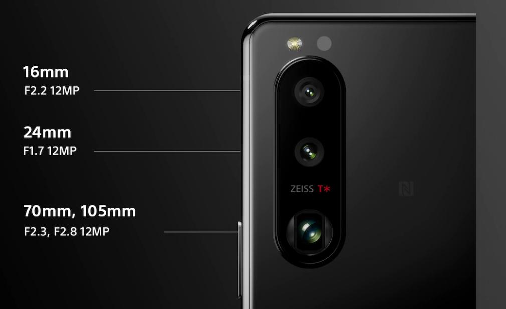 Xperia5IIIの背面カメラ