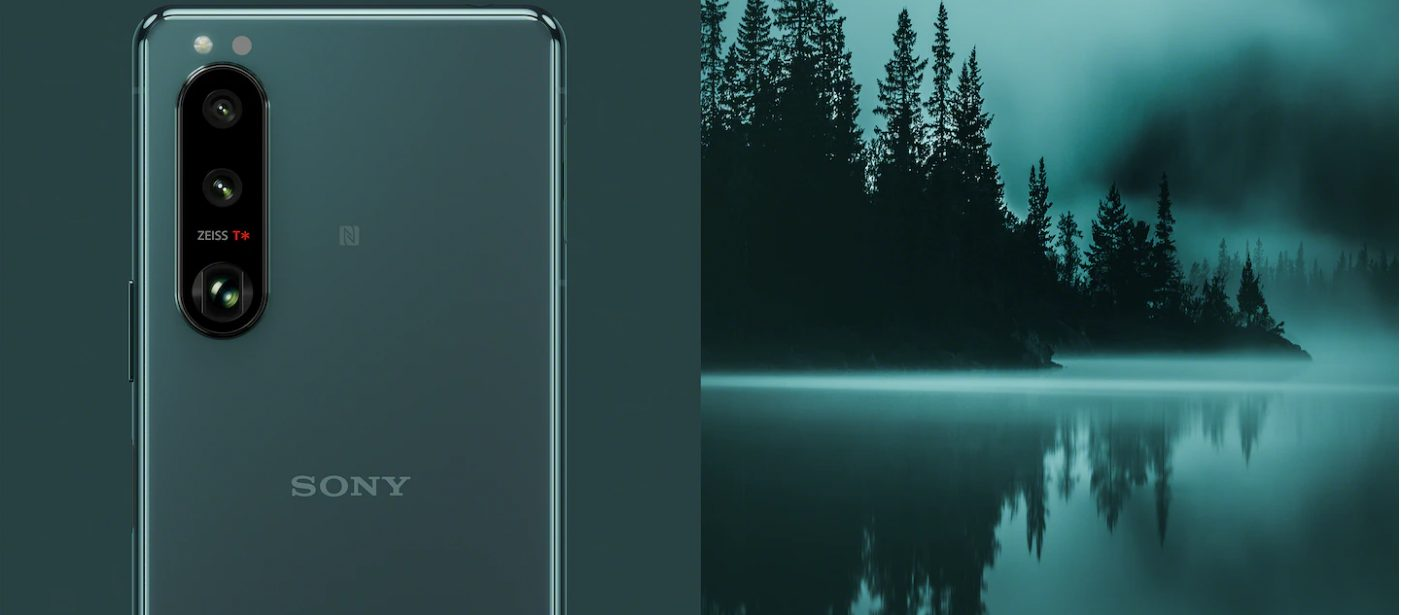 Xperia5IIIのカラーイメージ
