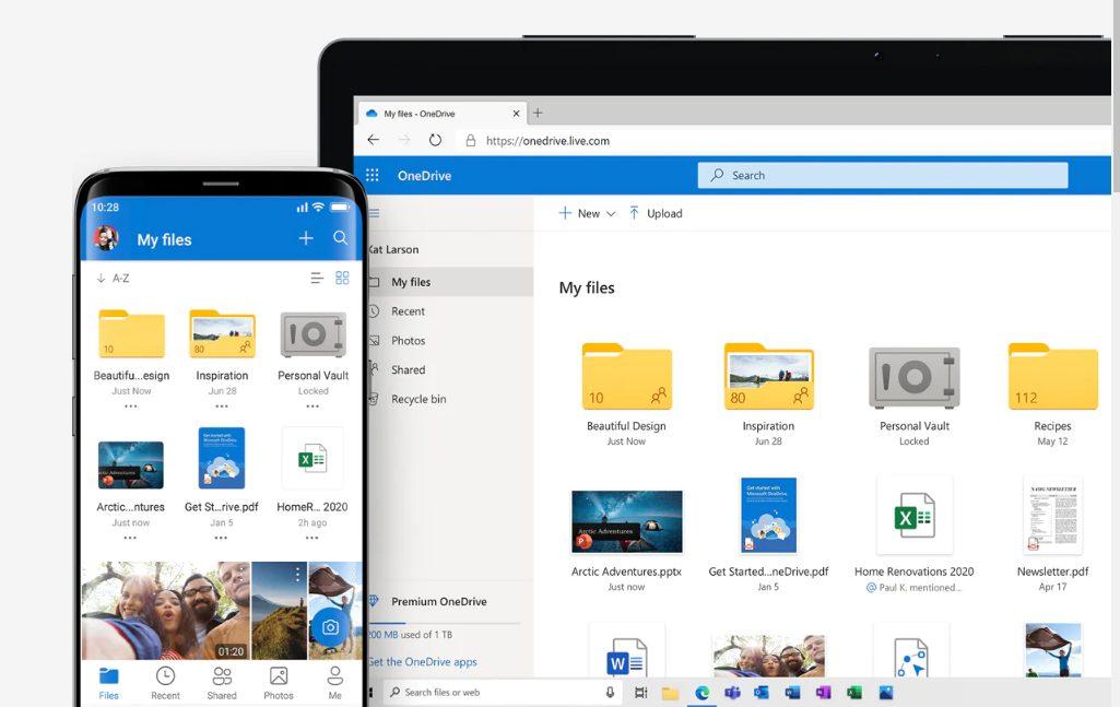 OneDriveでスマホとパソコンのデータを同期