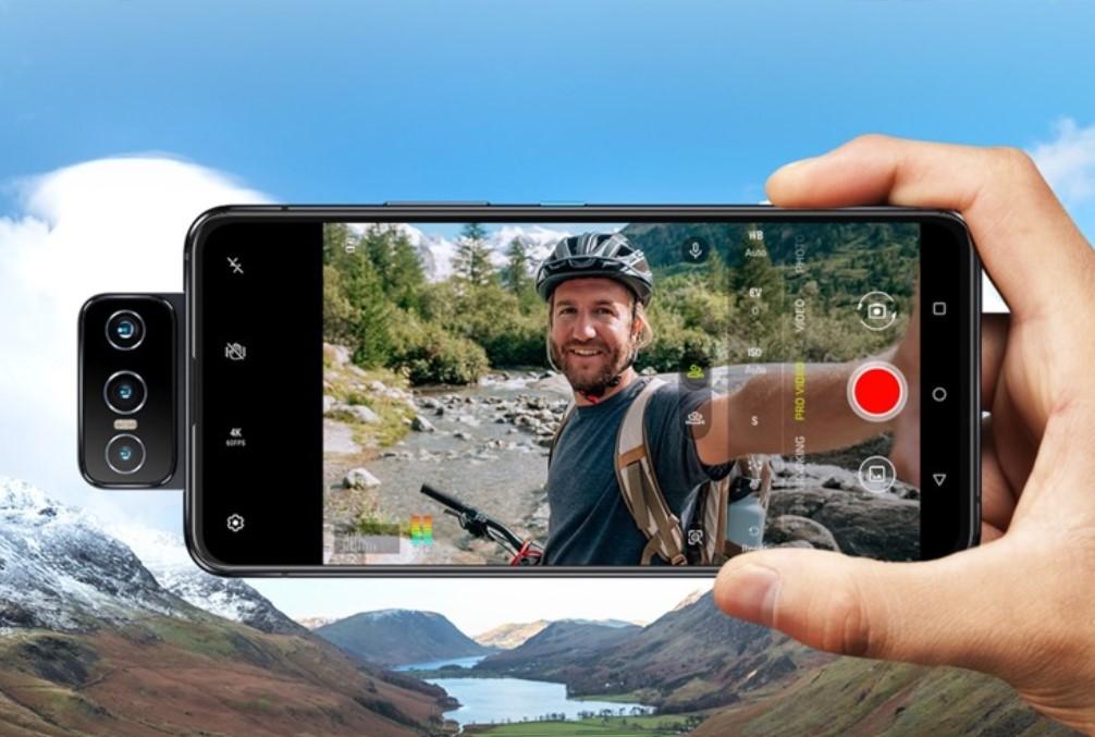 Zenfone8 Flipで動画を撮影