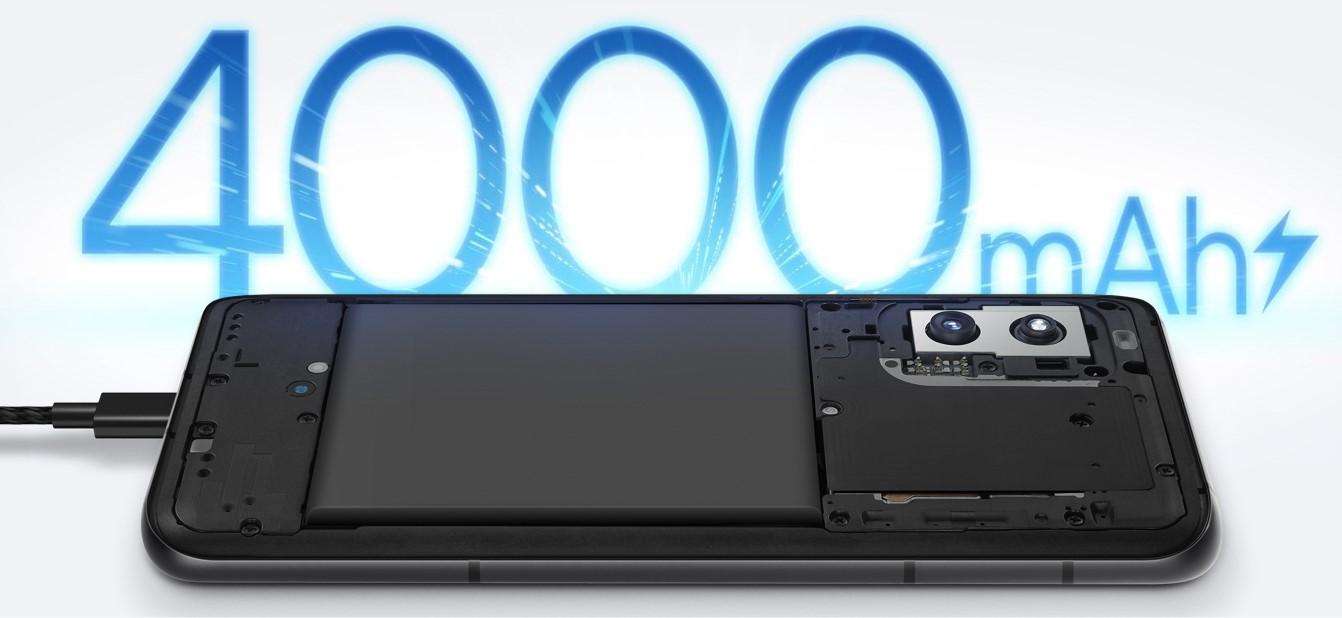 Zenfone8のバッテリー