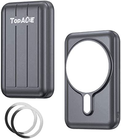 TopACE MagSafe対応モバイルバッテリー