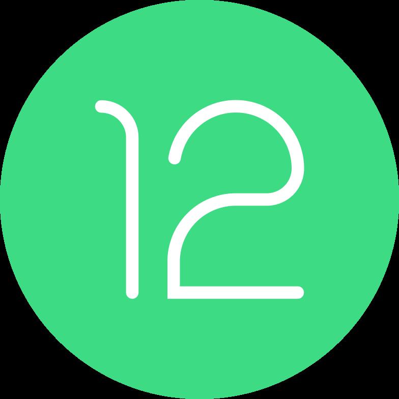 Andoroid 12のロゴ