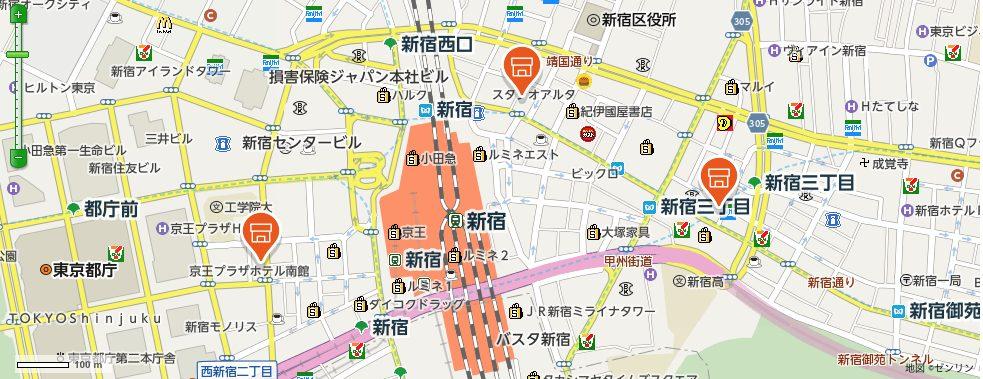auショップ検索マップ