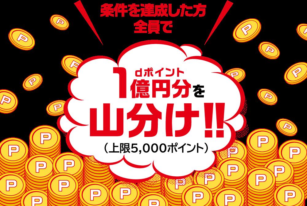 1億円分山分けキャンペーン