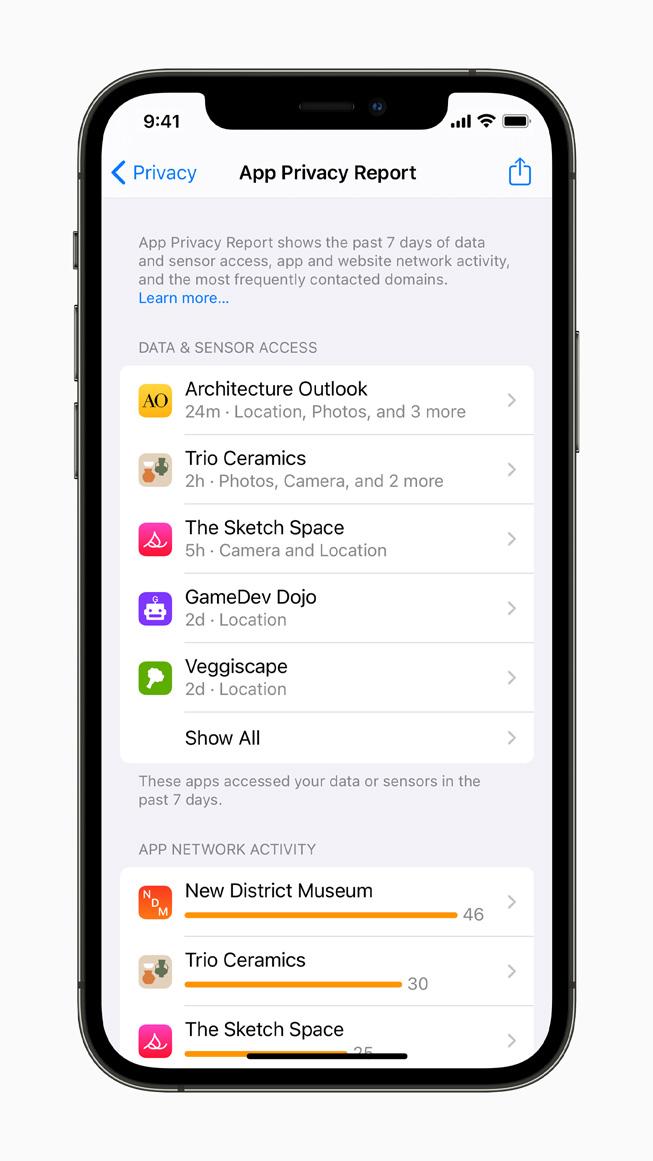 iOS15のプライバシー機能
