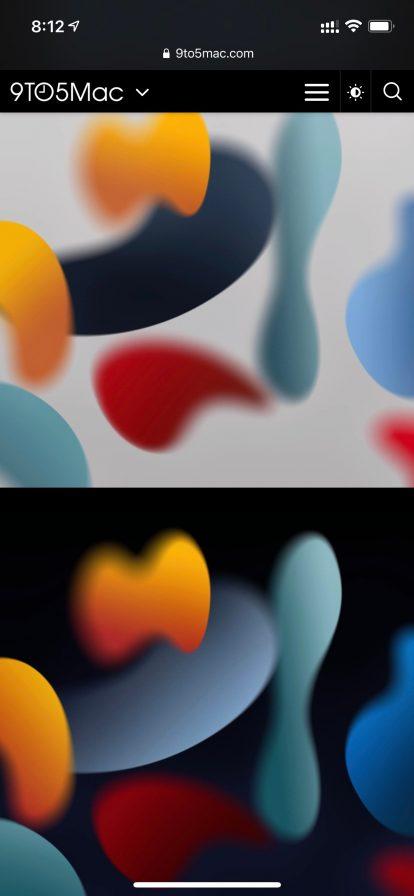 iOS 15の壁紙を先行体験
