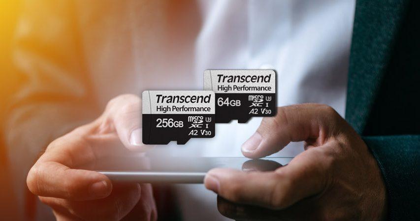 Transcend micro SDXC 330S