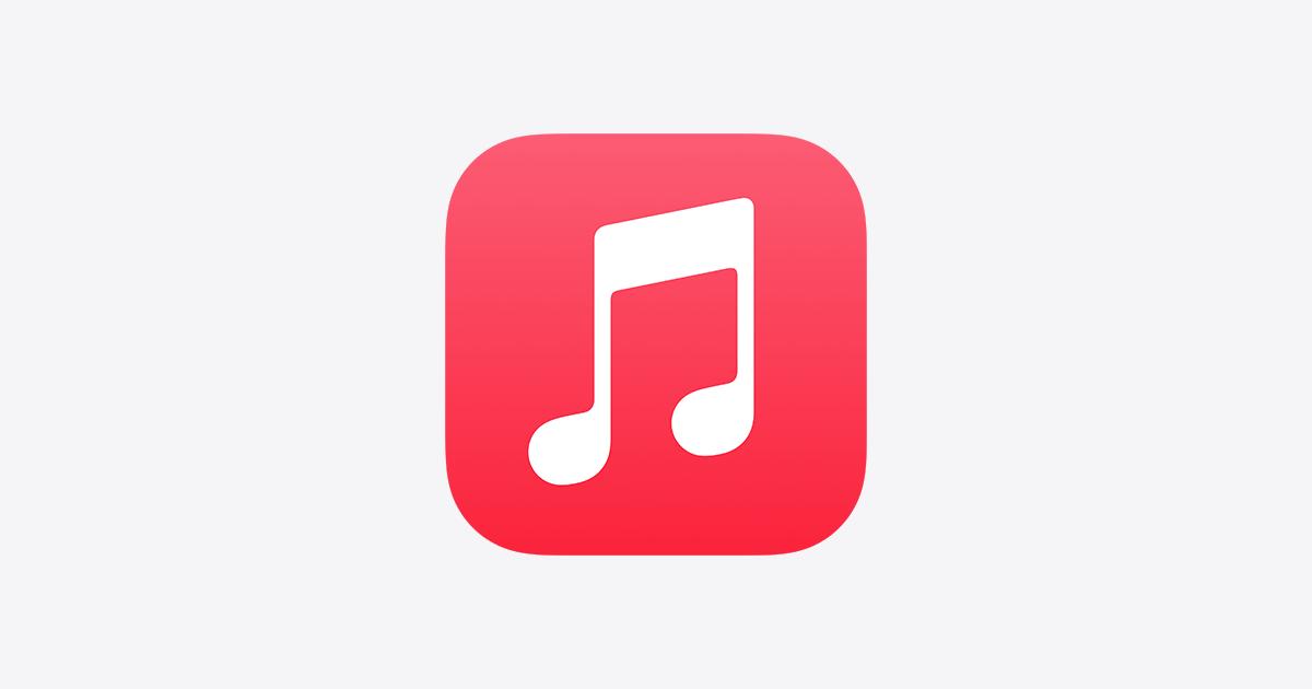 Apple Musicのロゴ