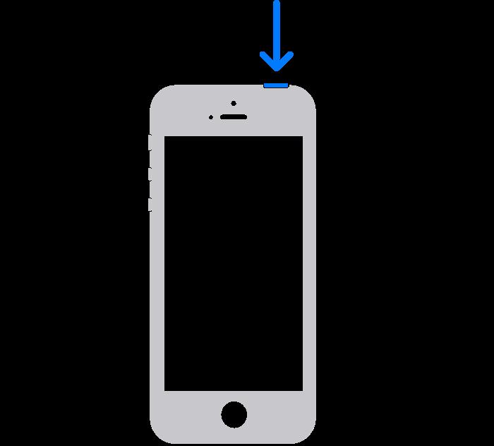 iPhone SE(第1世代)を再起動